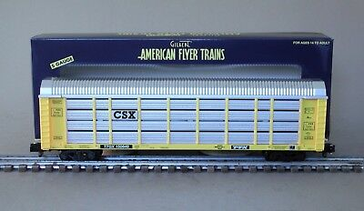 American Flyer 6-42591 CSX Auto Carrier by Lionel TTGX 150648