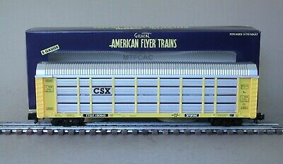 American Flyer 6-47930 CSX Auto Carrier by Lionel TTGX 150643