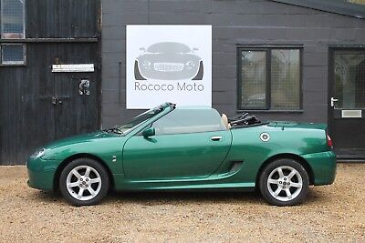 2003 Mgtf 135, Le Mans Green, 37,000 Miles, Fsh, New Cambelt, Just Serviced,