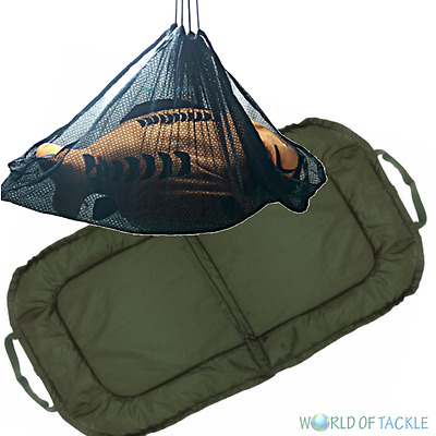 Unhooking Mat and Weigh Sling Carp Fishing Padded Large 115cm x 60cm