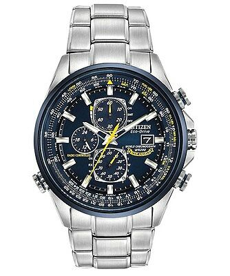 Citizen Eco-Drive Blue Angels World A-T Atomic Flight Watch AT8020-54L ST STEEL