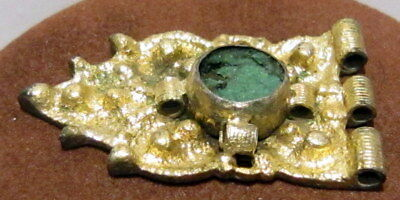 Byzantine, Early Medieval Period Silver GILT Jewelry Mount-Decoration # 23C