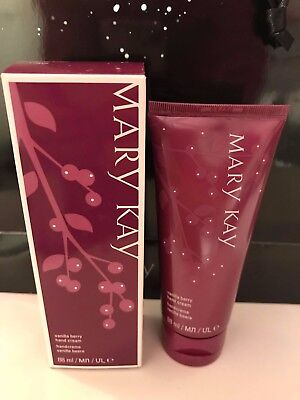 MARY KAY Vanilla Berry HAND CREAM Satin Hands Little Gifts BNIB *NEW FORMULA*