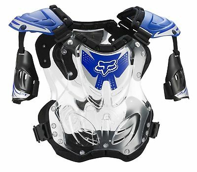 Fox Racing R3 Roost Deflector Chest Protector Adult & Youth Blue MX ATV MTB