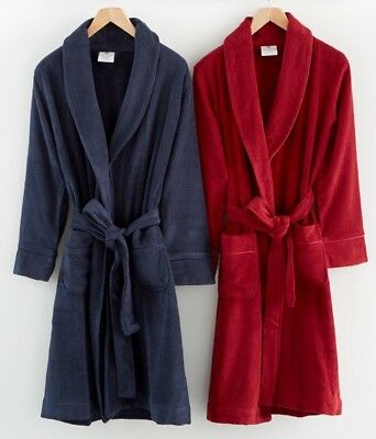 Hotel Collection Finest Modal Robe Luxury Turkish Cotton M L Med Casis Red $142