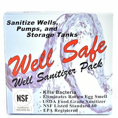 Well-Safe C21000 WATER Well Sanitizer Pack-1PACK