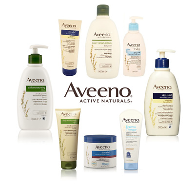 Aveeno Moisturising Full Range - Lotion, Cream, Wash, Shower, Nourishing & Baby