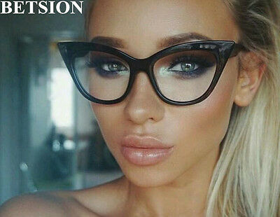 Fashion Women Cat Eye Eyeglass Frames Full Rim Glasses Myopia Eyewear
