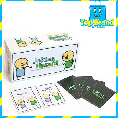 NEW Joking Hazard Game Card Party Kickstarter Cyanide And Happiness Box Edition