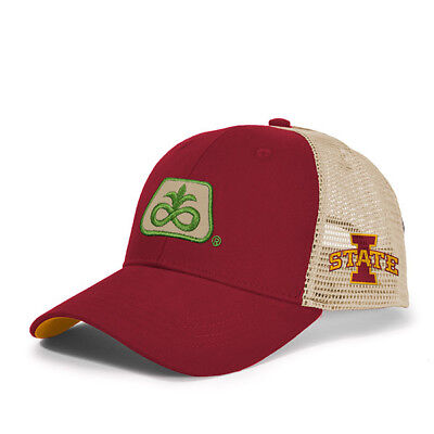 2017 PIONEER SEED *IOWA STATE CYCLONES* Red & Gold MESH *LOGO* HAT*