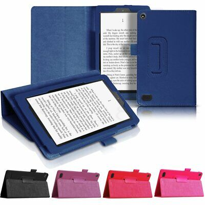 For 2017 Amazon Kindle Alexa Fire 7' HD 8' Tablet Smart Leather Case Cover Stand