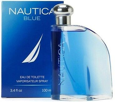 NAUTICA BLUE  Men's Cologne 3.4oz 100ml EDT Large Size NR !!!