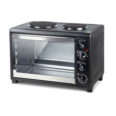Convection Oven Electric 45L Portable Large Table Benchtop Hot Plates Rotisserie
