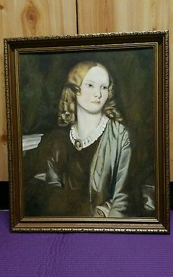 Mrs Ann Collman 1854 London Tate Gallery By Alfred Stevens Canvas Painting