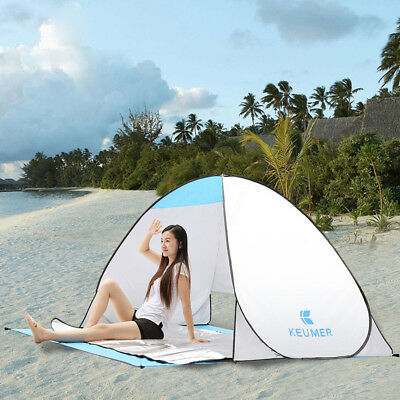 Waterproof Foldable Pop Up Tent -Camping Hiking Beach Shelter Portable Automatic