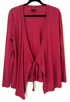 PEA IN A POD Maternity Classic Pink Cardigan 3/4 Sleeves Women Top Size 12