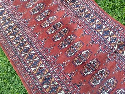 Vintage Persian runner in autumn tones: 290cm long.  CAN POST