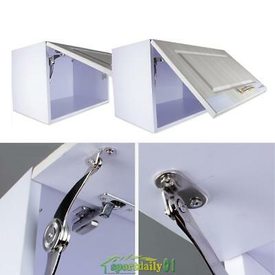 Kitchen Cabinet Cupboard Door Soft Close Lift up Stay Hydraulic Hinges + Screws