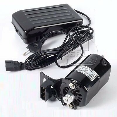 180W - 250W Sewing Machine Motor & Variable Speed Foot Pedal Switch Controller