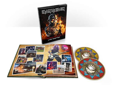 Iron Maiden - The Book Of Souls: Live Chapter (deluxe Edition) (2 CD) nuovo sigi