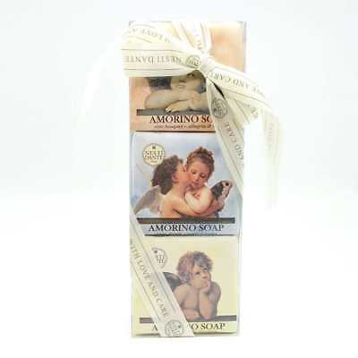 Kit 3 saponette vegetali Nesti Dante Firenze Amorino Soap Made in Italy