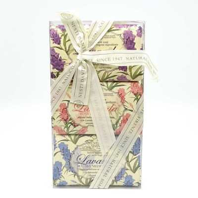 Kit 3 saponette vegetali Nesti Dante Firenze Lavanda Soap Made in Italy