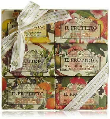 Kit 6 saponette vegetali Nesti Dante Firenze Il Frutteto Made in Italy