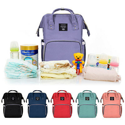 Mummy Baby Bag Maternity Diaper Nappy Changing Large Capacity Backpack Travel