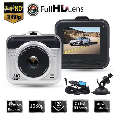 "2"" 1080P HD Car Vehicle DVR Camera Video Recorder Dash Cam Night Vision G-Sensor"