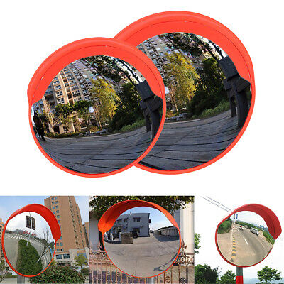 AU 60cm Curved Convex Mirror Road Wide Angle Safety Security Traffic Driveway