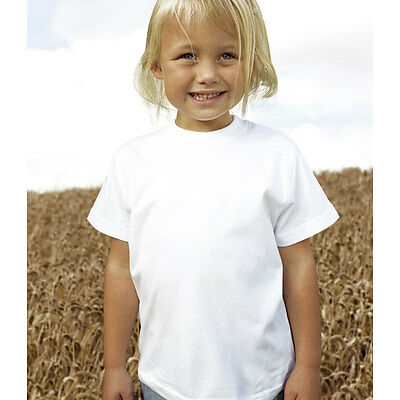 job lot of 64 Kids Okarma Organic cotton T shirts  age White 7-8 years unisex