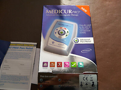 Medicur Pro Drug Free Pain Relief Pulsed PEMF ElectroMagnetic Therapy Pulse