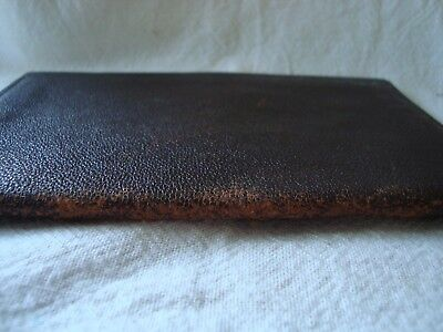 Vintage Dark Brown Leather Wallet