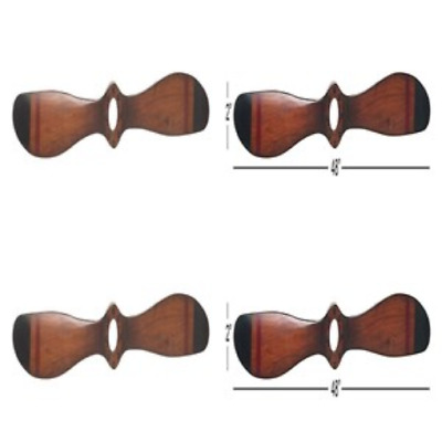 Wood Airplane Propeller 48x5 Inch Vintage Wooden Model Aviation Wall Home Decor