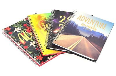 2018 2019 Week to View Hardback/Spiro Bound/FlexiCover Academic Diary/Student