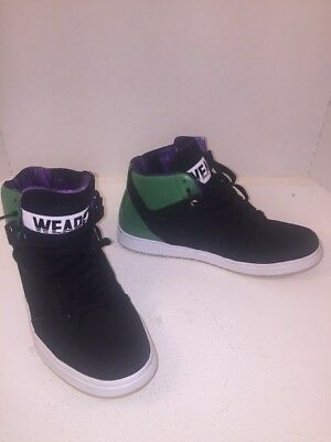 447899bf4a68 Converse Weapon Invader Size 10 Black Green Marvin the Martian Space Jam  146940C