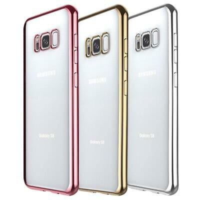 New Limited Edition Genuine Metal TPU Gel Phone Case For Samsung Galaxy S8 G950