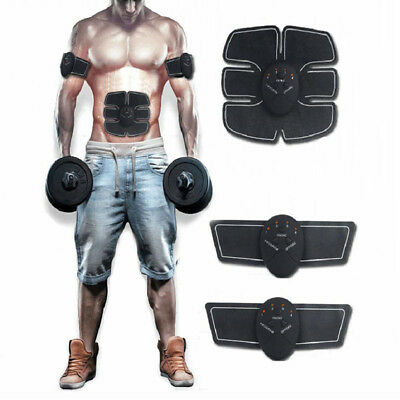 Muscle Stimulation Exerciser Kit For Bodybuilding ABS SixPad Gym Fitness Set