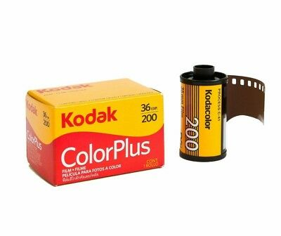 1 x KODAK ColorPlus 200 35mm 36exp Reduced Sized Packaging