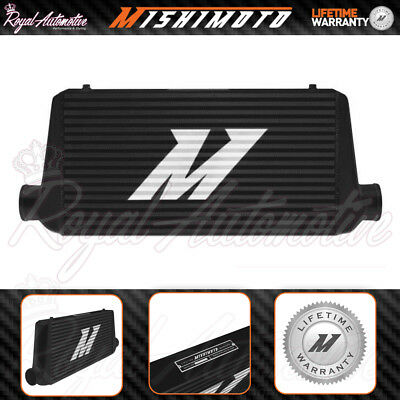 "Mishimoto R-line Universal Performance Aluminium Intercooler Black 4"" Core Turbo"