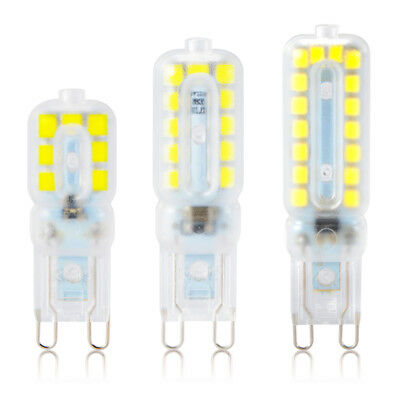 10x G9 2835 SMD Dimmable 5W 8W 12W Transparent Capsule Bulb LED Light Lamp 220V