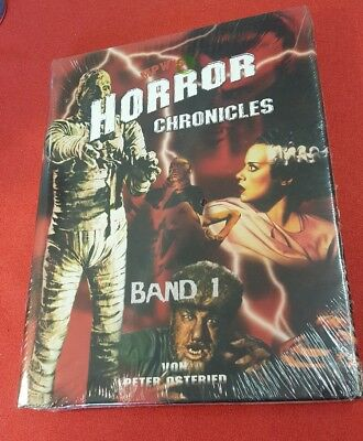 Buch Horror Chronicles 1 Neu OVP Peter Osteried Film Kino Movie Zombie Monster