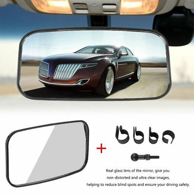 Center Wide Large Adjustable Rear View Clear Mirror for Universal UTV off Road H