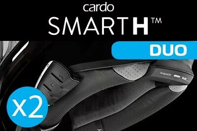 Cardo Scala Rider Smarth Duo Motorcycle Bluetooth Communication System