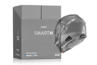 Cardo Scala Rider Smarth Single Motorcycle Bluetooth Communication System