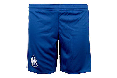 adidas Unisex Olympic Marseille 17/18 Kids Away Football Shorts Pants Sport