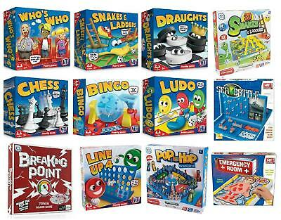 Classic Traditional Family Board Games Kids Childrens Xmas Gift Toys