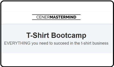 Justin Cener – T-Shirt Bootcamp (2016) [Marketing Sale Small Business]