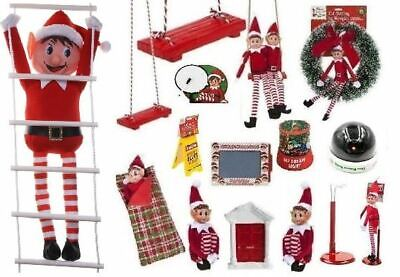 Elf Accessories Plush Figure Character Christmas Decor Sets Put On The Shelf Toy