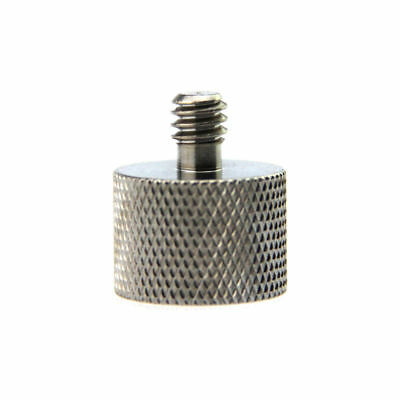 "PhotR 5/8"" Female to 1/4"" Male Conversion Tripod Microphone Thread Adapter Screw"